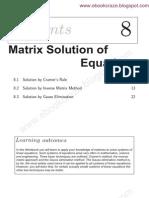 8 1 Cramers Rule 4 Simul Linear Eqns