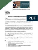 ESTUDIOS NECESARIOS PARA LA DEFINICIÓN DEL PROYECTO