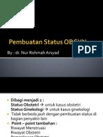 Pembuatan Status OBGYN