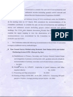 Report of the Committee on Unit Cost for Survey-resurvey 14-Jul-2011