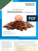 iMax Plan Brochure