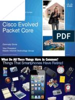 Cisco Evolved Packet Core Gennady Sirota Vice President