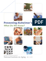 Preventing Alzheimers Disease