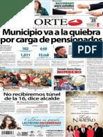 Periódico Norte de Ciudad Juárez 25 de Diciembre de 2013