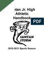 Santan JHS Athletic Handbook