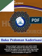 Buku Pedoman Kaderisasi Launching