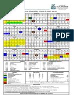 Calendario Seduc 2014