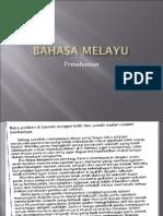 Bahasa Melayu pemahaman