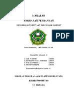 MENGELOLA PEMBIAYAAN DALAM BANK SYARIAH