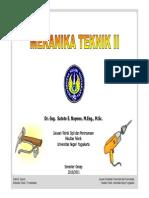 Materi Mekanika Teknik 2
