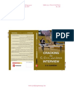 Cracking Interview Appendix III Entry Level Certification Courses