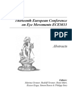 Abstracts Ecem13