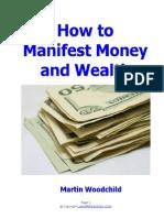 Manifest Money and Wealth