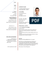 Business Cv English