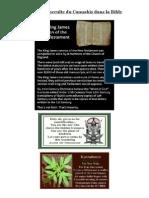 Histoire Occulte Du CANNABIS Dans La BIBLE