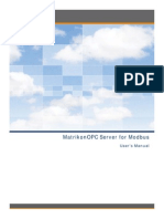 MatrikonOPC Server for Modbus User Manual