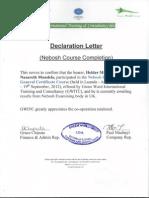 Declaration Letter - Course Completion_H