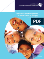 SDCEP PM Dental Caries Guidance in Brief