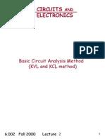 Basic Circuit Analysis Method