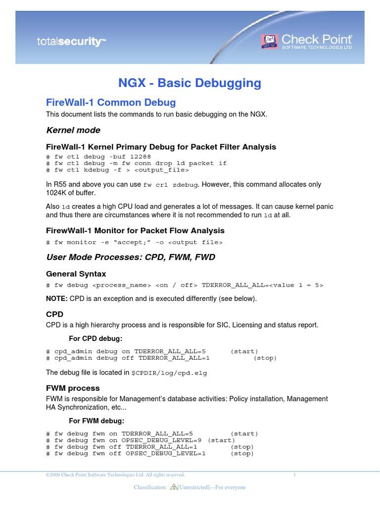 NGX Basic Debugging | Computer Engineering | Computer