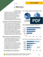 Fact Sheet - Who Gives