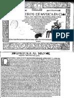Facsimile 1546 Alonso Mudarra-Tres Libros de Musica en Cifras-Sevilla