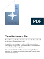 The Three Musketeers - Alexandre Dumas, Pere