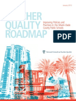 Teacher Quality Roadmap Improving Policies and Practices in Miami NCTQ Report