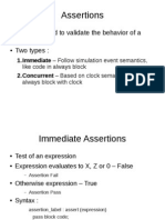 Assertion Presentation