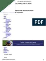 Johan Cruyff Institute _ Football Management Degree
