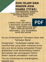 Isu-Isu Kontemporari Tamadun Islam Dan Tamadun Barat-hegemoni Barat Dan Globalisasi