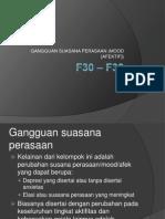 F30 – F39