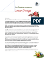 PASPAC eNewsletter December 2013
