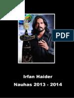 Irfan Haider 2013 - 2014