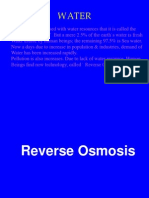 13733438 Presantation on Reverse Osmosis