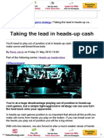 PKR _ Taking the Lead in Heads-up Cash
