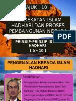 Prinsip-prinsip Islam Hadhari (6-10) Dan Relevensinyaya Dalam Proses Pembangunan Negara
