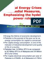 Energy Crises in Pakistam