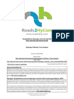Hydrogen Pathway- Cost Analysis