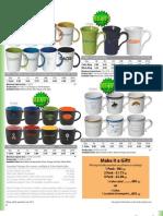 Ceramic Mugs - Screen Printed