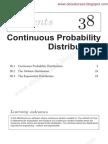 38 1 Cont Prob Dist