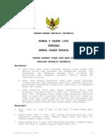 Undang Undang Nomor 5 Tahun 1992 tentang Cagar Budaya