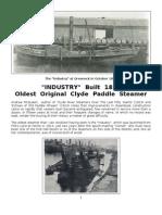 The Industry - Oldest Original Steamer - 1814
