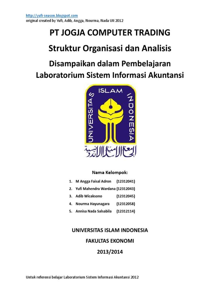 Laboratorium Sistem Informasi Akuntansi Analisis Struktur