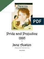 Pride and Prejudice 1995 Movie Script