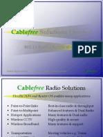 Cablefree - Radio Applications