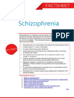 Schizophrenia Factsheet