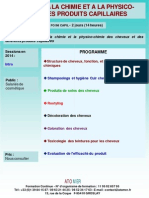 Formation Continue Initiation Chimie Physico-chimie Des Produits Capillaires Cheveux
