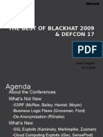 DC206 Best of BlackHat and DefCon 2009