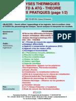 Formation Continue Analyse Thermique DSC ATD ATG Analyse Thermogravimetrique Theorie Et Pratique